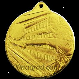 Медаль футбол D001\G  Ø50мм
