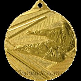 Медаль D002 карате Ø50мм G
