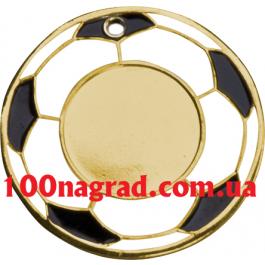 Медаль MMC5150  Ø50 мм футбол