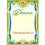Диплом полиграфический Третьей степени A4 - 147