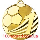 Медаль D2450  диаметр 50 мм  Футбол
