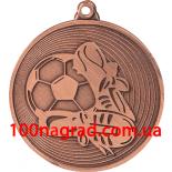 Медаль MMC9750 диаметр 50 мм  футбольная