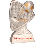 Литая металлизированная статуэтка RP 2011 Футбол Н-12см.