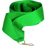 Лента зеленая 15мм для медалей и бейджей