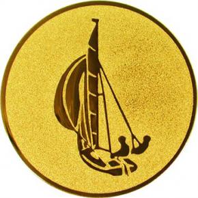 Парусник А16 G жетон Ø50мм