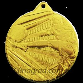 Медаль D001\G футбол Ø50мм