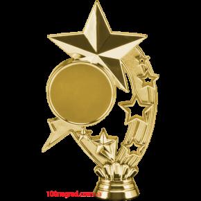Статуэтка F235/G Звезда Н-17см -  пластиковая, спортивная  наградная статуэтка Звезды