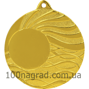 Медаль MMC5053 Ø50мм золото