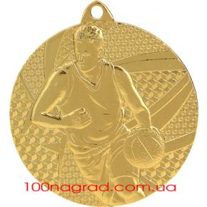 Медаль MMC6850  баскетбол Ø 50мм