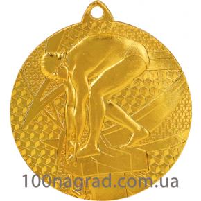 Медаль MMC7450 Ø 50мм Плавание