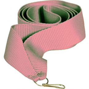 Лента розовая 15мм для медалей и бейджей