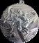 Медаль MMC15-050 Ø50ММ (серебро)