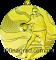 Медаль MMC2150 баскетбол Ø50мм золото