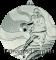 Медаль MMC2150 баскетбол Ø50мм   серебро