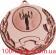 Медаль MMC5052  Ø50 мм С кубком